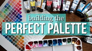 Building the PERFECT WATERCOLOR PALETTE