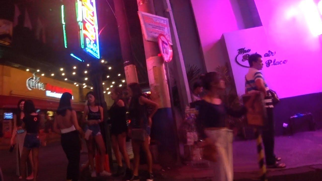 Филиппины. Манила. Ночная прогулка по злачному району. Ночные бабочки.