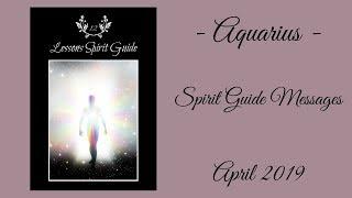 Aquarius - This will pass! - April Spirit Guide Messages