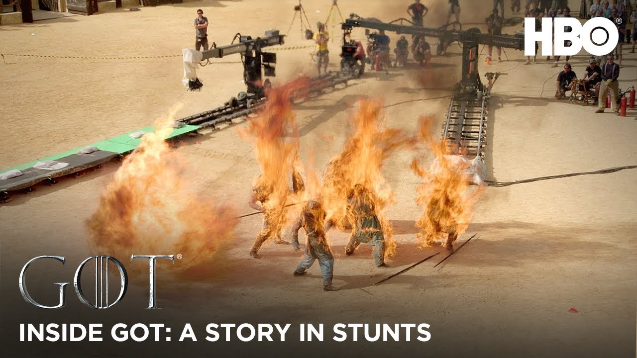 Inside Game of Thrones: A Story in Stunts – BTS (HBO)