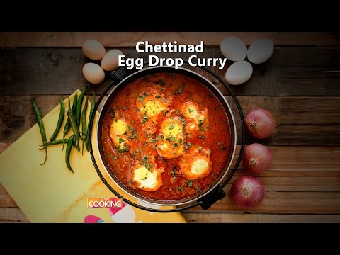 Chettinad Egg Drop Curry  Ventuno Home Cooking