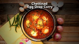 Chettinad Egg Drop Curry | Home Cooking