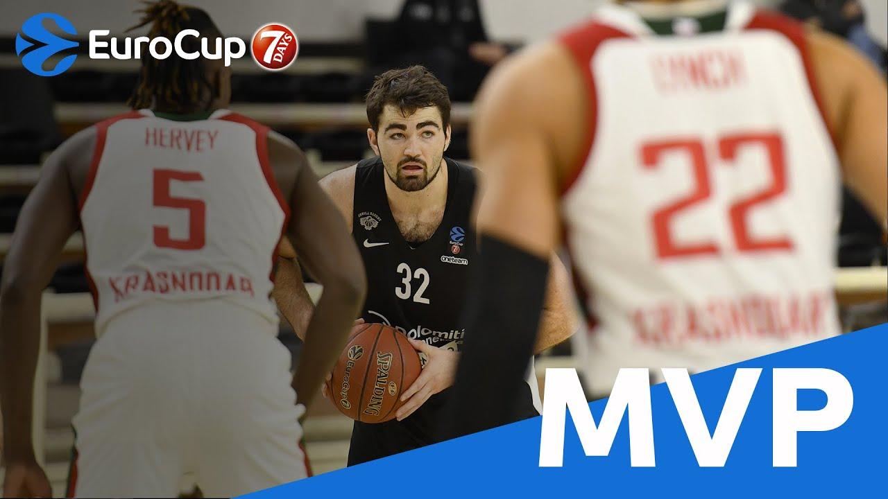 Video: Luke Maye EuroCup MVP Highlights