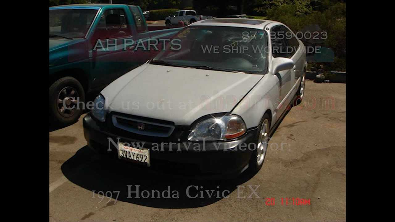 1997 Honda Civic Parts AUTO WRECKERS RECYCLERS Anhdonline.com Acura Used