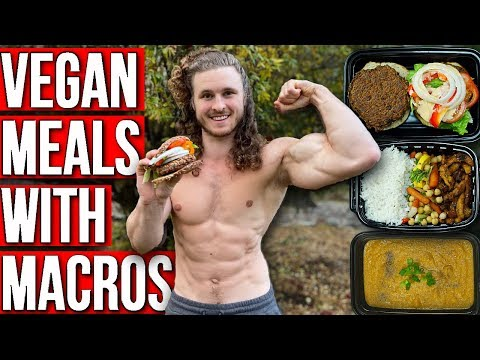 BEST VEGAN MEAL PREP FOR MUSCLE | EASY & HIGH PROTEIN