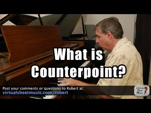 What is Counterpoint? Free Music Lessons