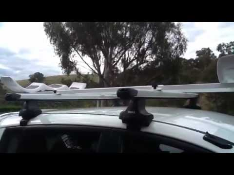 Hobie Pro Angler Roof Rack System - YouTube