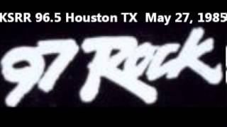FM DX:  KSRR 96.5/97 Rock Houston TX May 27, 1985 Part 3