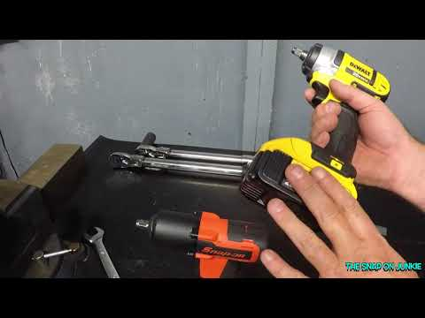 DEWALT VS SNAP ON 3/ 8 CORDLESS IMPACTS REAL WORLD TEST🛠🔩🤴🏽