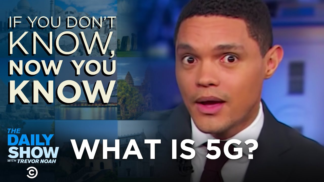 China vs. The United States In The Race For 5G | The Daily Show