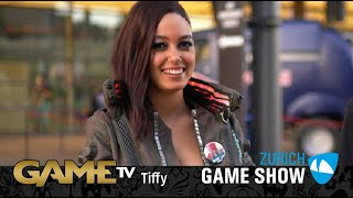 Game TV Schweiz - Interview mit Tiffie (Zürich Game Show)