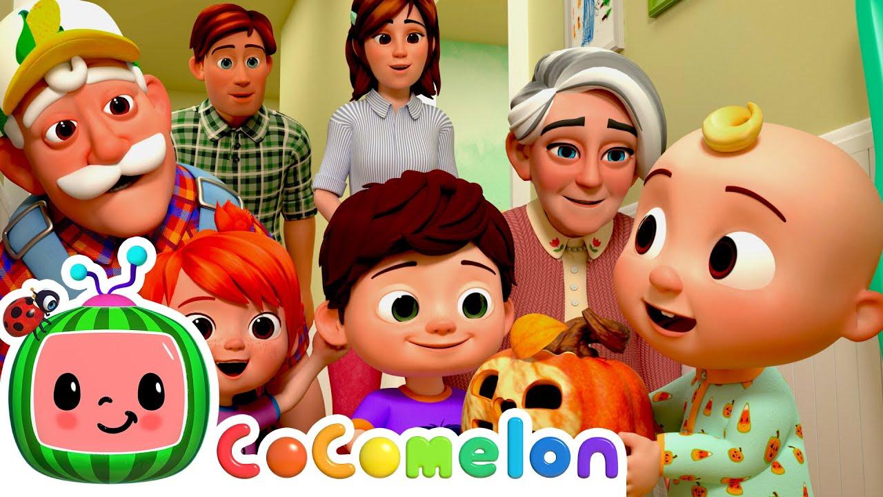 Peek-a-BOO! - @Cocomelon - Nursery Rhymes | Kids Cartoons & Nursery Rhymes | Moonbug Kids