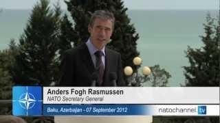 NATO Secretary General - Joint press point w/ President of Azerbaijan