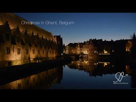 Ghent City at Christmas