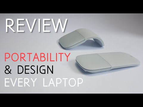 Surface Arc Mouse Review - Portability & Design For Every Laptop
