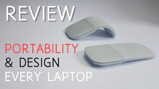 Surface Arc Mouse Review - Design and Portability