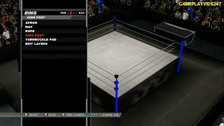 WWE 2K15: Create An Arena Complete Showoff for Xbox 360! - (Stage Design, Ring Design, Many More)