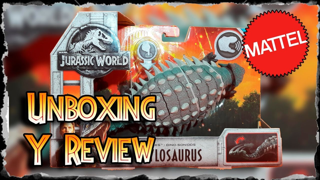 Y Ankylosaurus De Review Mattel Unboxing Jwfk OTiwkXPZu