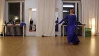 Scuola di danza orientale a Milano: Hilal dance danza araba contemporanea 2017 Video