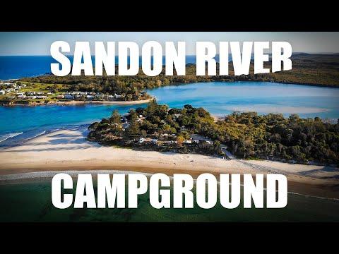 Family Camping - Sandon River
