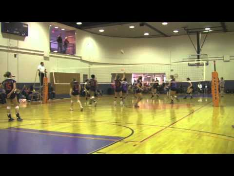 Shawneis Jones Volleyball Game Highlights