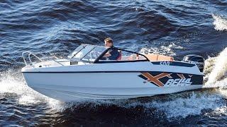 Компактный катер Bella 500 BR - Обзор катера из Финляндии(Экономичный катер Bella 500 BR с подвесным мотором без труда развивает скорость в 37 узлов, а дополнительный топл..., 2015-12-28T16:44:59.000Z)