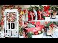 🎄10 DIY DOLLAR TREE CHRISTMAS DECOR CRAFTS 2019🎄