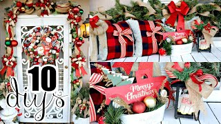 🎄10 DIY DOLLAR TREE CHRISTMAS DECOR CRAFTS 2019🎄