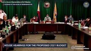 House budget hearing for Department of National Defense for 2021 fiscal year