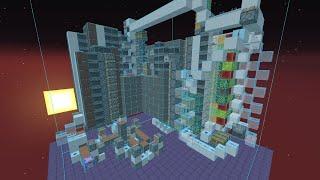 Minecraft Realms - Recreating Ilmango's Universal Tree Farm in Survival
