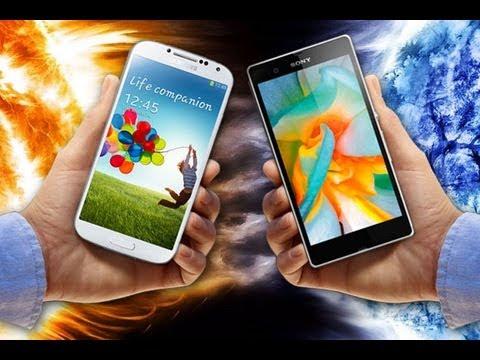 Sony Xperia Z1 vs Samsung Galaxy S4 I9505 - videotesty.pl [PORÓWNANIE]