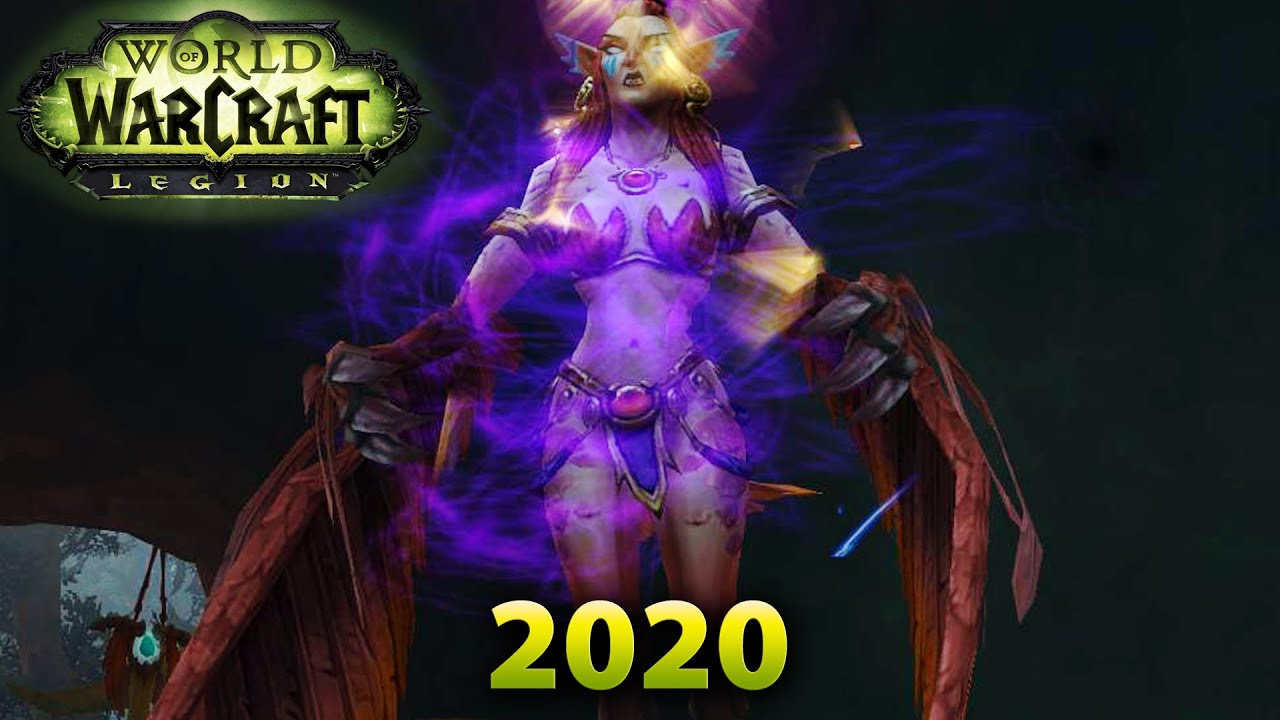 New World Of Warcraft Expansion 2020.Legion 2020 Death To The Witchmother