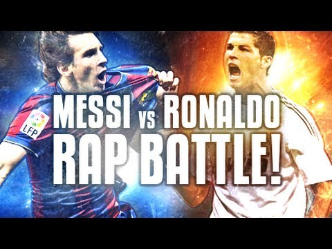Messi VS Ronaldo -- Football Rap Battles #1
