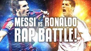 Repeat youtube video Messi VS Ronaldo -- Football Rap Battles #1