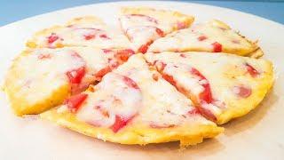 Пицца на Сковороде за 10 минут /Быстрый Рецепт Очень Вкусной Пиццы.