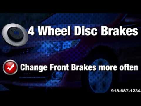 Replace Repair Toyota Front Rear Brakes Service McAlester Tahlequah OK