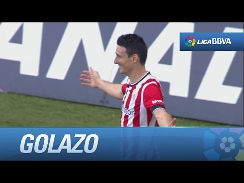 Golazo de cabeza de Aduriz (1-0) en el Athletic Club - Real Madrid