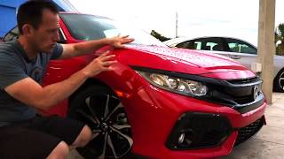 Is the 2018 Honda Civic Si a TYPE R on a BUDGET? - Raiti's Rides