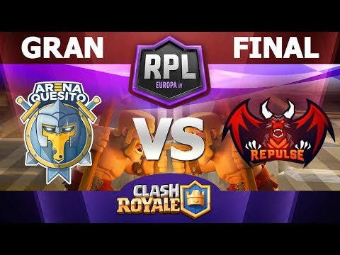FINAL DE LA RPL EUROPA | Arena Quesito vs Team Repulse A con CHARLYNIGHTER