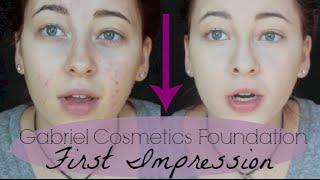 Gabriel Cosmetics Foundation First Impression