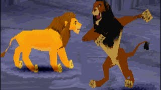Lion King (PS1) All Bosses (No Damage)