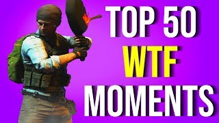 TOP 50 FUNNIEST WTF MOMENTS IN PUBG
