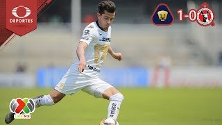 Resumen Pumas 1 - 0 Tijuana | Clausura 2019 - Jornada 14 | Televisa Deportes