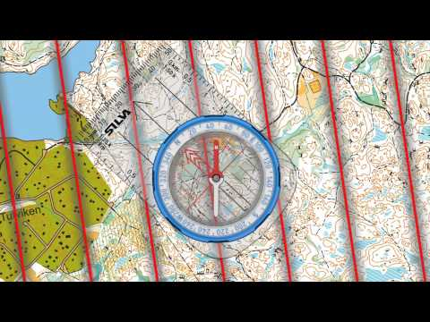 How to use a Compass - easy compass navigation with the Silva 1-2-3 system