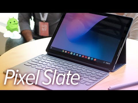 Pixel Slate hands-on: Google\'s Surface rival tablet!