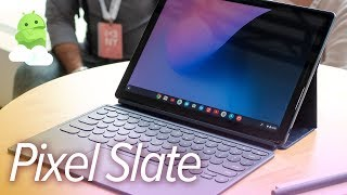 Pixel Slate hands-on: Google's Surface rival tablet!