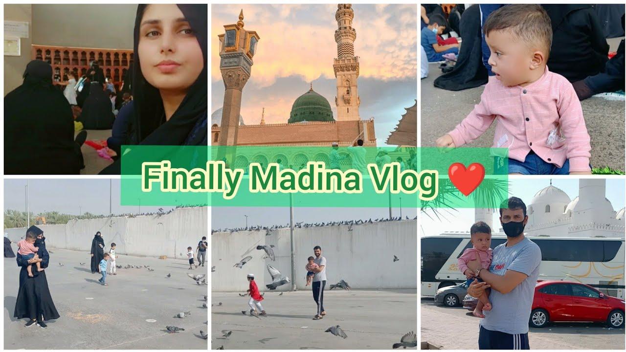 Traveling Vlog Yunbu to Madina 🕌 Masjid Quba/ Madina Vlog