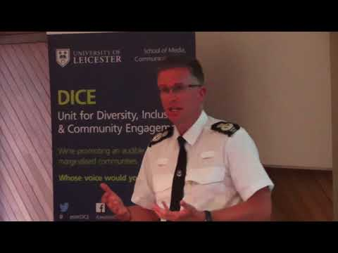 Chief Constable Simon Cole _ Policing a Multicultural City _ University of Leicester, 03/07/17