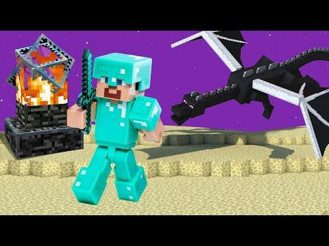Майнкрафт видео обзор - Нуб в мире Эндер Дракона! - Игры для мальчиков в гейм шоу онлайн.