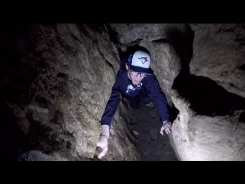 Cave exploring goes wrong! - Tight squeezes